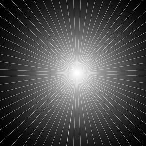 集中線の完成イメージ